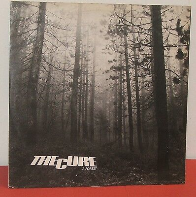 "THE CURE : A FOREST / Original 12"" Inch Vinyl Single / FICTION RECORDS 1980 / VG"