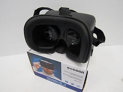 Cocoon VR-4 Virtual Reality Headset for Smart Phone - Black - FIS L90