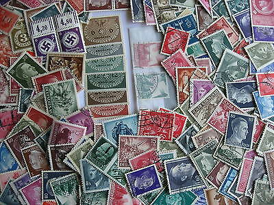 WWII era 200 mostly Nazi, Hitler from Germany mixture (duplicates, mixed cond)