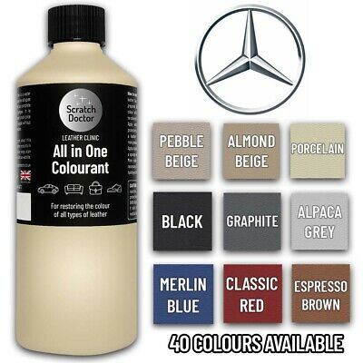 Leather All In One Colourant Dye Touch Up Repair For MERCEDES Car Interior Seats