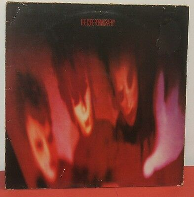 The Cure : Pornography / Vinyl Lp - Album / Fiction Records 1982 / Vg