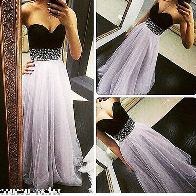 Elegant Women Party Cocktail Prom Sleeveless Formal Evening Long Maxi Dress