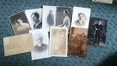 Bundle of 21 Victorian and Edwardian anonymous people