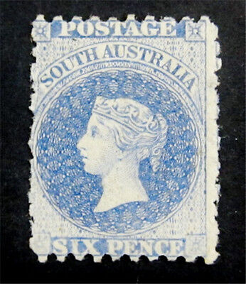 nystamps British Australian States Queensland Stamp # 22 Mint OG H $100
