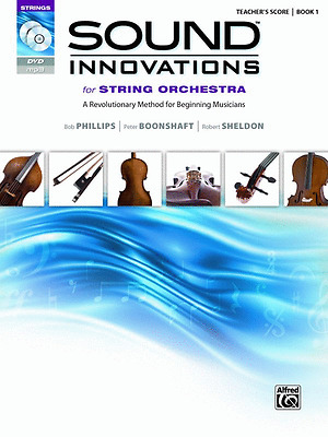 Sound Innovations Book 1 - String Method Book/cd/dvd Conductor Score 34592