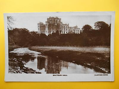 SALTOUN HALL Nr Haddington East Lothian *Vintage* RP 1919