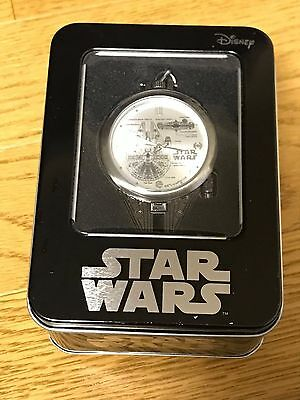 STAR WARS Pocket Watch Millenium Falcon SEGA Authentic from JAPAN DIFFICULT!