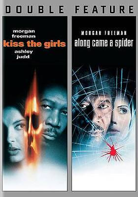 KISS THE GIRLS/ALONG CAME A SPIDER (DVD, 2013, 2-Disc Set) NEW