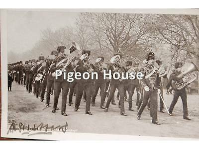 The 10th POW Hussars: Band Marching at Aldershot