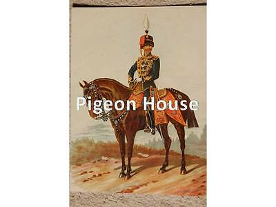 The 10th Hussars: Mounted Officer in Full Dress