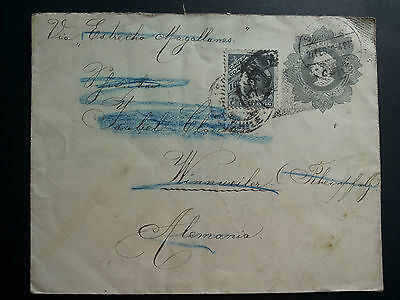 CHILE,Brief von 1909 !!!