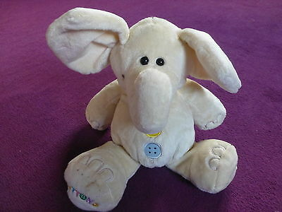 Soft Toy Buttons The Elephant