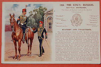 The 15th Hussars: Battle Honours