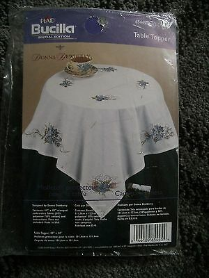 Bucilla Table Topper - Bee's Delight Printed Tablecloth To Embroider.