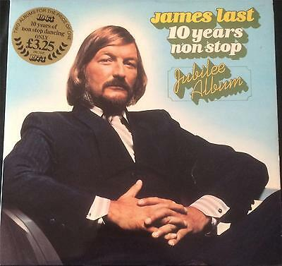 James Last - 10 Years Non Stop Jubilee Album - Vinyl Lp - See Desc