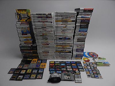 Nintendo Wii, GameCube, 3DS, DS, GBA, N64, GB, SNES and NES Game Lot 220+ Games