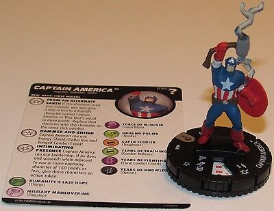 CAPTAIN AMERICA 036 15th Anniversary What If? Marvel HeroClix Rare