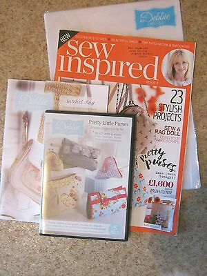 Sew Inspired Issue 2 With Dvd  By Debibe Shore