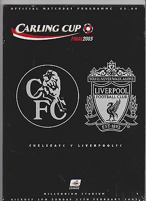 2005 League Cup Final.Chelsea v Liverpool.