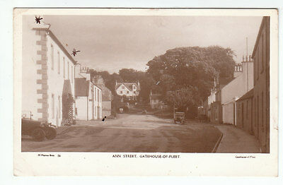 Ann Street Gatehouse Of Fleet Kirkcudbright 19 Aug 1941 McMurray Bros Old PC