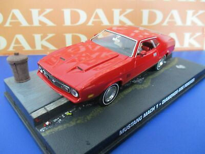 Die cast 1/43 Modellino Auto 007 James Bond Ford Mustang Mach 1 Diamond are For