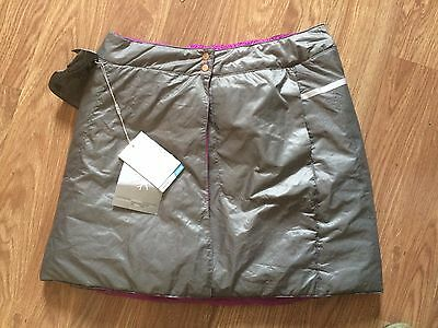Nike Womens Uk Size 6 Purple/silver Reversible Golf Skirt (New With Tags)