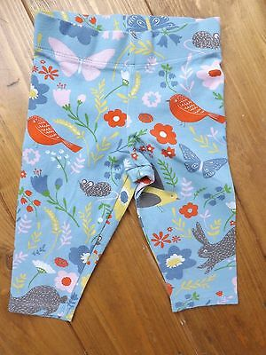 Boden floral animal print multi coloured leggings in age 3-4 years