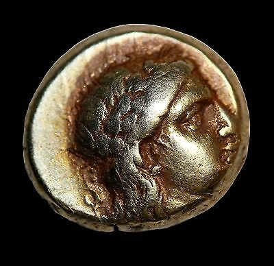 Lesbos Mytilene 377-26BC Gold El Hecte Sixth Stater Ancient Greek Coin El Hekte