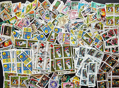 Wholesale Mix Of @ 900 Mongolia Topical Stamps