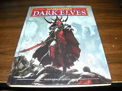Warhammer Armies: Dark Elves Hardcover Army Book (2012)
