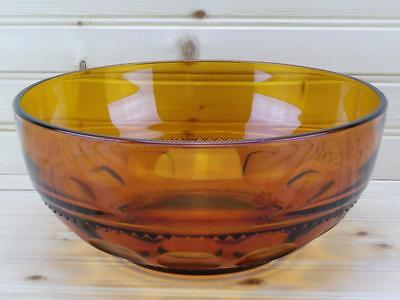 Colony COLOR CROWN Amber Salad / Serving Bowl |Discontinued USA