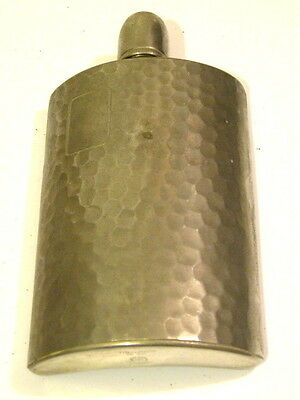 Vintage Flask Made In Germany Tin Lined U.S. Zone 10 oz..