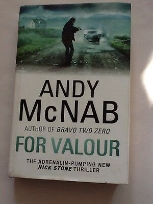 ANDY McNAB - FOR VALOUR - SIGNED