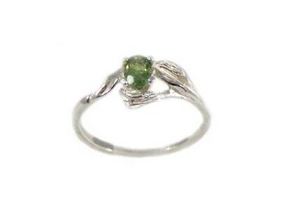 RARE 19thC Antique 1/3ct Demantoid Gem of Ancient Anglo-Saxon Celt Norman German