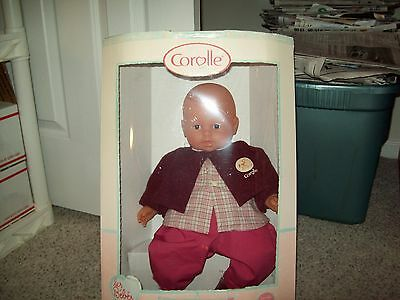 """Corolle 17"""" Baby Doll Charles Rose"""