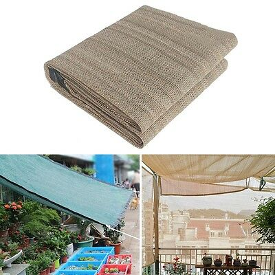 Pop Sunshade Sail Garden Flowers Awning Protective Netting Summer Shading Canopy