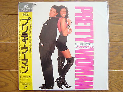 PRETTY WOMAN JAPAN LD Laser Disc NEW OLD STOCK/FACTORY SEALED Julia Roberts