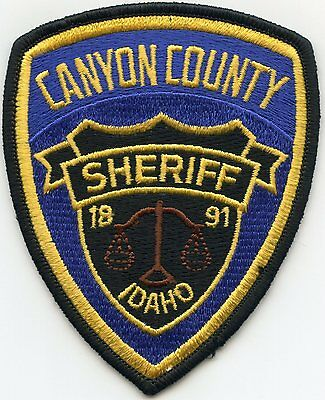 Canyon County Idaho Id Sheriff Police Patch