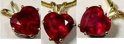 19thC Antique Handcut 2¾ct+ Ruby Ancient Etruria Rome War God Mars Ares Gem 14kt