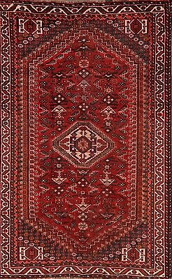 Great Deal Antique Geometric Tribal 5x8 Shiraz Persian Oriental Area Rug Wool