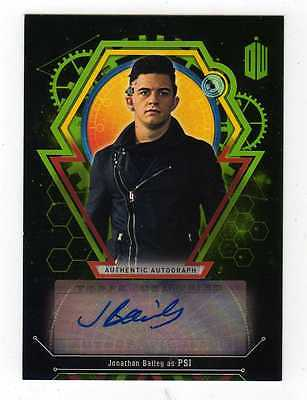 Doctor Who Extraterrestrial Encounters Jonathan Bailey Auto Autograph PSI #41/50