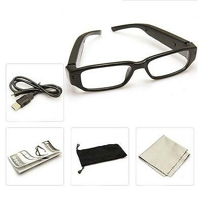 720P HD Spy Glasses Camera Camcorder Hidden Eyewear Security DVR Video Recor KR