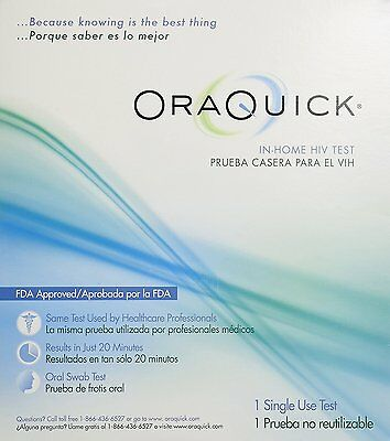 Oraquick HIV Home Test Kit