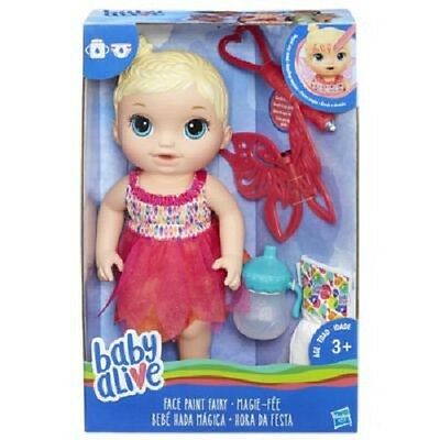 Brand New Hasbro Baby Alive Face Paint Fairy B9723 Doll