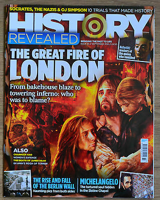 HISTORY REVEALED MAGAZINE No.33 SEPTEMBER 2016 EXCELLENT CONDITION L@@K!