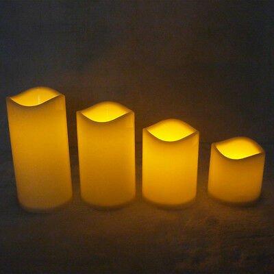Remote Control Flameless LED Tealight Candles Light Wedding Party Decoration