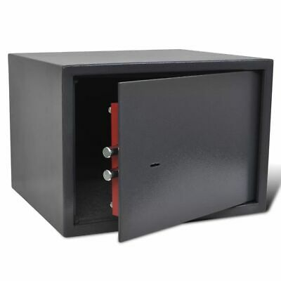 Pistol Safe Hand Gun Ammunition Box Storage Security Lockbox Heavy Duty Steel