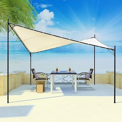 4x4M Butterfly Syle Gazebo Marquee Canopy Wedding Sun Shade Outdoor Party Tent