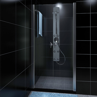 New 190x100cm Shower Enclosure Safety Glass Swing Door Quadrant Bathroom Screen
