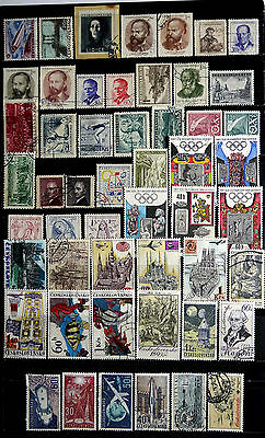 Czechoslovakia: Classic Era To 1960's Stamp Collection